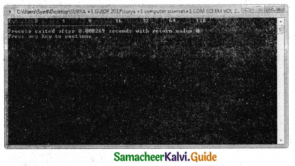 Samacheer Kalvi 11th Computer Science Guide Chapter 10 Flow of Control 37