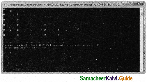 Samacheer Kalvi 11th Computer Science Guide Chapter 10 Flow of Control 41