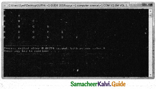 Samacheer Kalvi 11th Computer Science Guide Chapter 10 Flow of Control 42