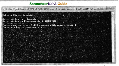 Samacheer Kalvi 11th Computer Science Guide Chapter 11 Functions 5