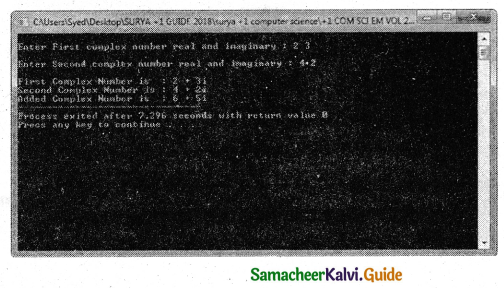 Samacheer Kalvi 11th Computer Science Guide Chapter 12 Arrays and Structures 15