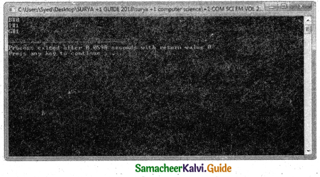 Samacheer Kalvi 11th Computer Science Guide Chapter 14 Classes and Objects 1