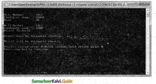 Samacheer Kalvi 11th Computer Science Guide Chapter 14 Classes and Objects 19