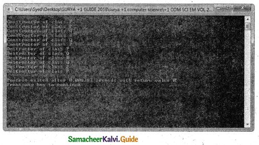 Samacheer Kalvi 11th Computer Science Guide Chapter 14 Classes and Objects 4