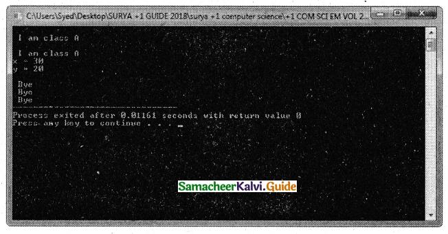 Samacheer Kalvi 11th Computer Science Guide Chapter 16 Inheritance 11