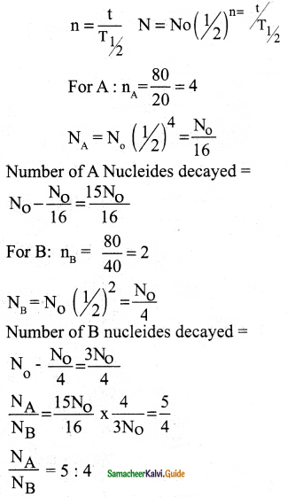 Samacheer Kalvi 12th Physics Guide Chapter 8 Atomic and Nuclear Physics 35