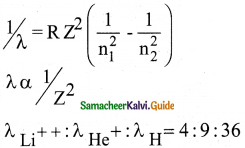 Samacheer Kalvi 12th Physics Guide Chapter 8 Atomic and Nuclear Physics 4