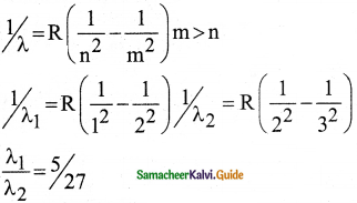Samacheer Kalvi 12th Physics Guide Chapter 8 Atomic and Nuclear Physics 40