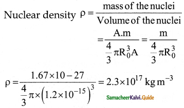 Samacheer Kalvi 12th Physics Guide Chapter 8 Atomic and Nuclear Physics 9