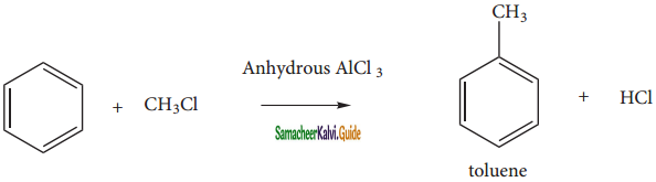 Samacheer Kalvi 11th Chemistry Guide Chapter 13 Hydrocarbons 199