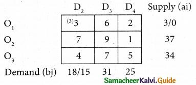 Samacheer Kalvi 12th Business Maths Guide Chapter 10 Operations Research Ex 10.1 4