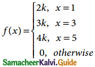 Samacheer Kalvi 12th Business Maths Guide Chapter 6 Random Variable and Mathematical Expectation Miscellaneous Problems 5