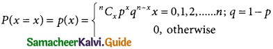 Samacheer Kalvi 12th Business Maths Guide Chapter 7 Probability Distributions Ex 7.1 1