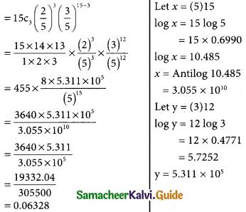 Samacheer Kalvi 12th Business Maths Guide Chapter 7 Probability Distributions Ex 7.1 18