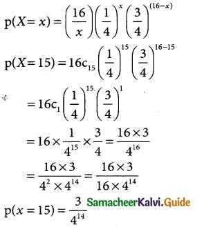 Samacheer Kalvi 12th Business Maths Guide Chapter 7 Probability Distributions Ex 7.1 24