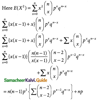 Samacheer Kalvi 12th Business Maths Guide Chapter 7 Probability Distributions Ex 7.1 3