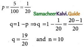 Samacheer Kalvi 12th Business Maths Guide Chapter 7 Probability Distributions Ex 7.1 4