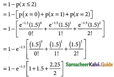 Samacheer Kalvi 12th Business Maths Guide Chapter 7 Probability Distributions Ex 7.2 4