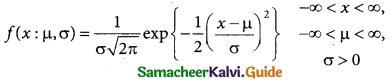 Samacheer Kalvi 12th Business Maths Guide Chapter 7 Probability Distributions Ex 7.3 1