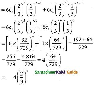 Samacheer Kalvi 12th Business Maths Guide Chapter 7 Probability Distributions Ex 7.4 5