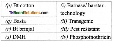 TN Board 12th Bio Botany Important Questions Chapter 4 Principles and Processes of Biotechnology 14