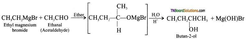 TN Board 12th Chemistry Important Questions Chapter 11 Hydroxy Compounds and Ethers 12