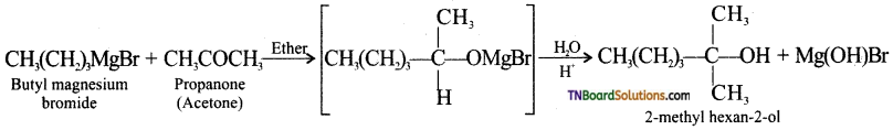 TN Board 12th Chemistry Important Questions Chapter 11 Hydroxy Compounds and Ethers 13