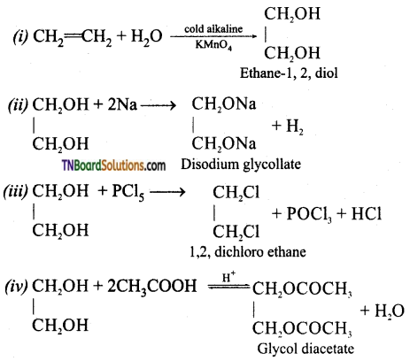 TN Board 12th Chemistry Important Questions Chapter 11 Hydroxy Compounds and Ethers 21