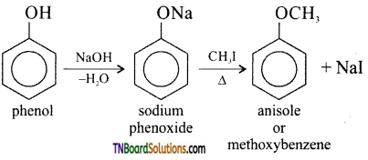 TN Board 12th Chemistry Important Questions Chapter 11 Hydroxy Compounds and Ethers 65