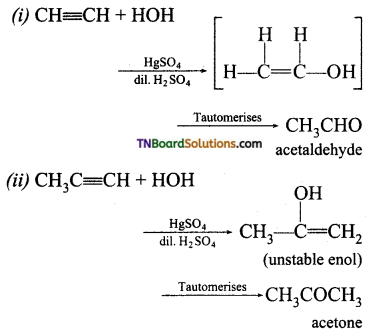 TN Board 12th Chemistry Important Questions Chapter 12 Carbonyl Compounds and Carboxylic Acids 10