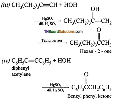 TN Board 12th Chemistry Important Questions Chapter 12 Carbonyl Compounds and Carboxylic Acids 11