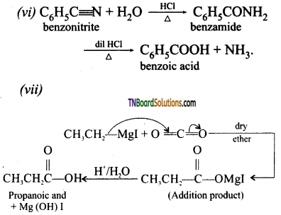 TN Board 12th Chemistry Important Questions Chapter 12 Carbonyl Compounds and Carboxylic Acids 112