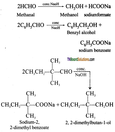 TN Board 12th Chemistry Important Questions Chapter 12 Carbonyl Compounds and Carboxylic Acids 117