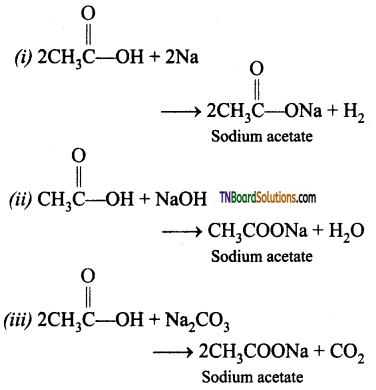 TN Board 12th Chemistry Important Questions Chapter 12 Carbonyl Compounds and Carboxylic Acids 118