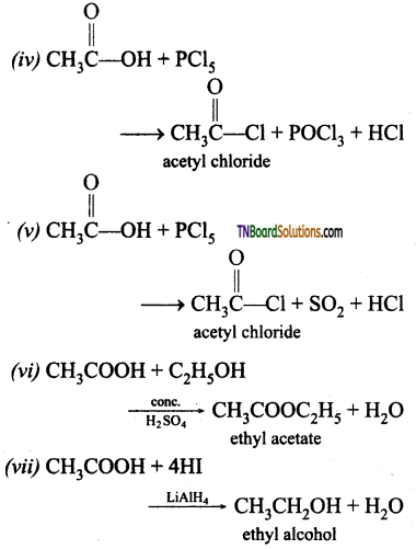 TN Board 12th Chemistry Important Questions Chapter 12 Carbonyl Compounds and Carboxylic Acids 119