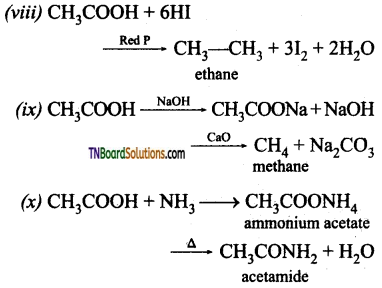 TN Board 12th Chemistry Important Questions Chapter 12 Carbonyl Compounds and Carboxylic Acids 120
