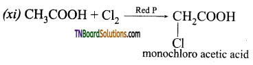 TN Board 12th Chemistry Important Questions Chapter 12 Carbonyl Compounds and Carboxylic Acids 121