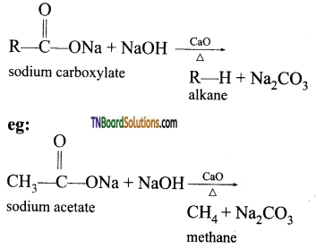 TN Board 12th Chemistry Important Questions Chapter 12 Carbonyl Compounds and Carboxylic Acids 126