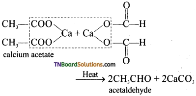 TN Board 12th Chemistry Important Questions Chapter 12 Carbonyl Compounds and Carboxylic Acids 13