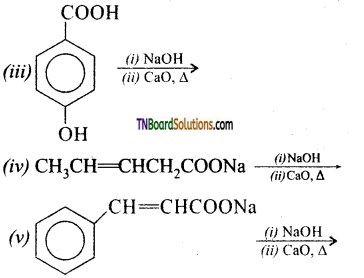 TN Board 12th Chemistry Important Questions Chapter 12 Carbonyl Compounds and Carboxylic Acids 133