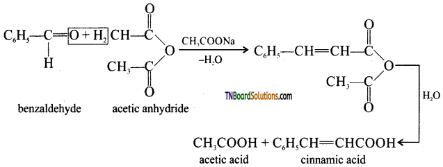 TN Board 12th Chemistry Important Questions Chapter 12 Carbonyl Compounds and Carboxylic Acids 155