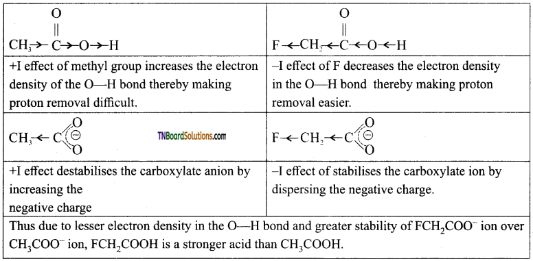 TN Board 12th Chemistry Important Questions Chapter 12 Carbonyl Compounds and Carboxylic Acids 164