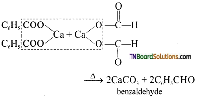 TN Board 12th Chemistry Important Questions Chapter 12 Carbonyl Compounds and Carboxylic Acids 17