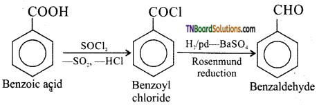 TN Board 12th Chemistry Important Questions Chapter 12 Carbonyl Compounds and Carboxylic Acids 170