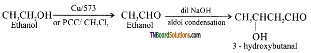 TN Board 12th Chemistry Important Questions Chapter 12 Carbonyl Compounds and Carboxylic Acids 171