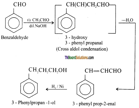 TN Board 12th Chemistry Important Questions Chapter 12 Carbonyl Compounds and Carboxylic Acids 175