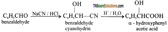 TN Board 12th Chemistry Important Questions Chapter 12 Carbonyl Compounds and Carboxylic Acids 176