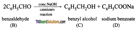 TN Board 12th Chemistry Important Questions Chapter 12 Carbonyl Compounds and Carboxylic Acids 188