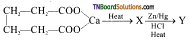 TN Board 12th Chemistry Important Questions Chapter 12 Carbonyl Compounds and Carboxylic Acids 196