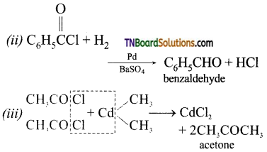 TN Board 12th Chemistry Important Questions Chapter 12 Carbonyl Compounds and Carboxylic Acids 20
